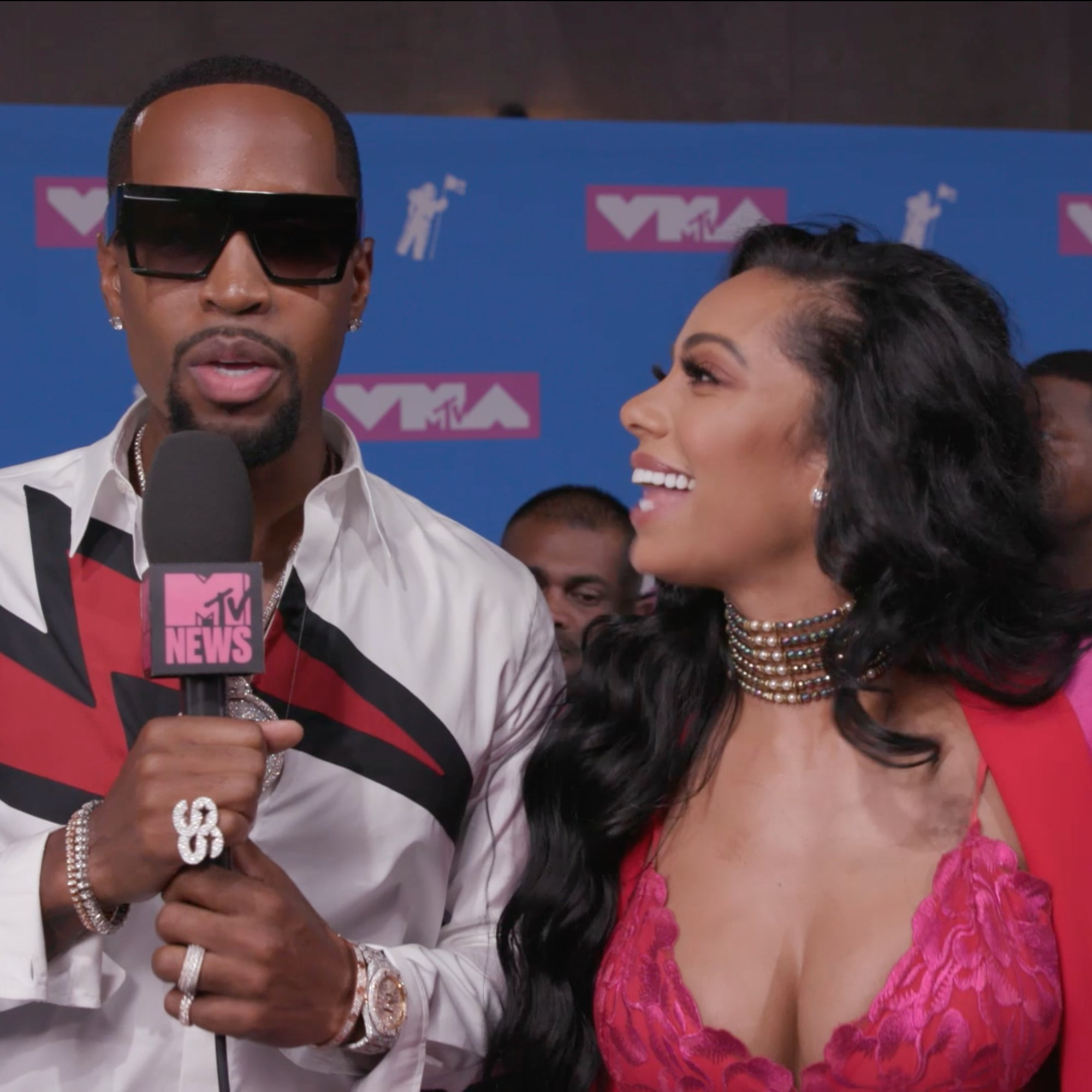 Erica Mena Posts An Emotional Message For Safaree's Birthday And He Responds - Here Are The Public Romantic Words These Two Exchanged Just After The Cheating Rumors