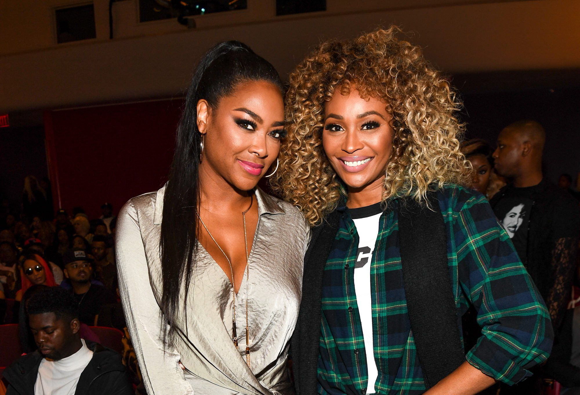 Kenya Moore And Cynthia Bailey Are Chocolate Sisters In This Latest Photo