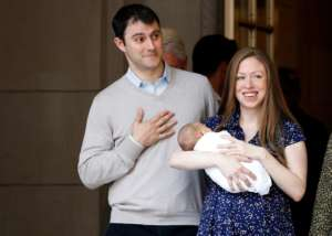 Chelsea Clinton Gives Birth To A Baby Boy - Her Third Child!