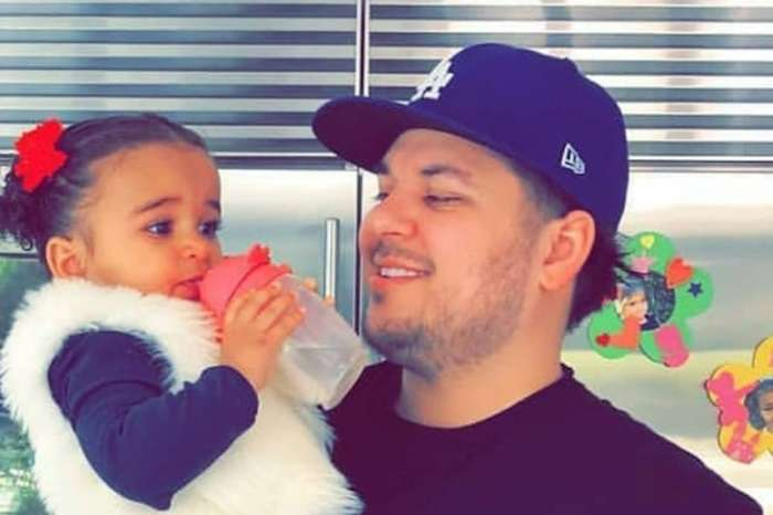 KUWK: Rob Kardashian Posts Cute Pic Of Dream In An Astroworld T-Shirt