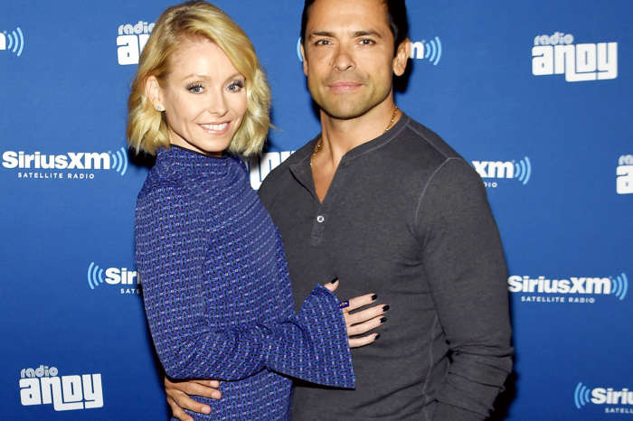 Kelly Ripa Raves Over Throwback Pic Of 'Daddy' Mark Consuelos Taken On Their Honeymoon 23 Years Ago!