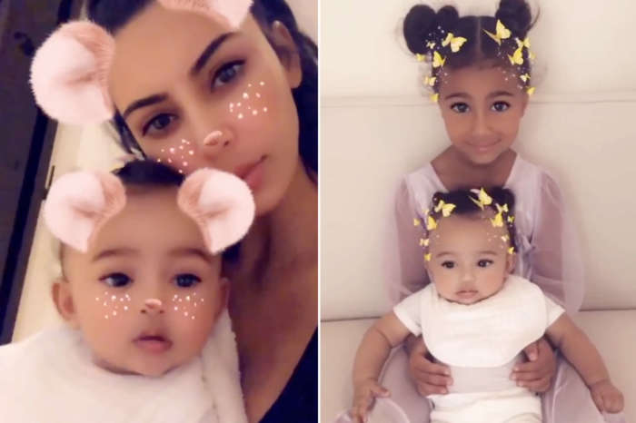 Kim Kardashian's Baby Girl Chicago Styles Her Sister, North's Hair In The Latest Video