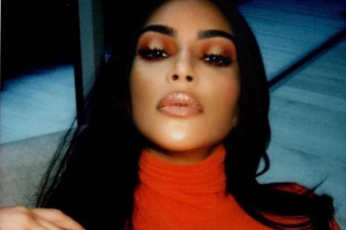 Kim Kardashian West Glows In Orange In New Photos