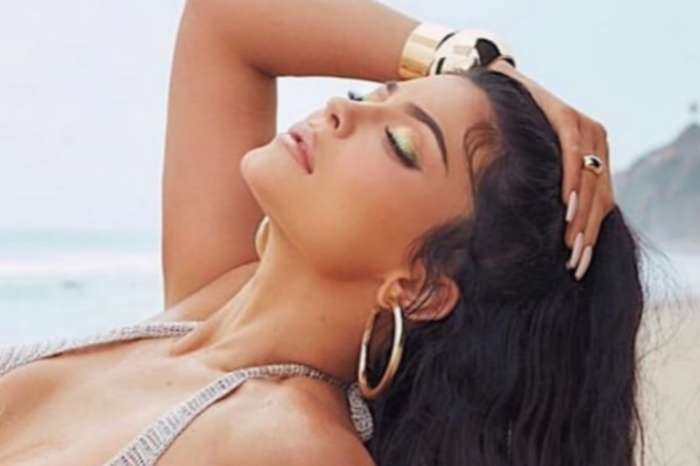 Kylie Jenner Shimmers In New Kylie Cosmetics Summer Campaign — Fans Think This Photo Is Selena Gomez Modeling For The Brand