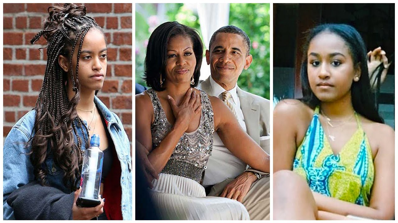 """""""michelle-obama-says-daughters-sasha-and-malia-experienced-their-first-kisses-at-the-white-house-with-bodyguards-around"""""""