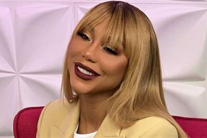 Tamar Braxton And Her Family Pose In Nigeria - Logan Herbert Doesn't Seem Here For It