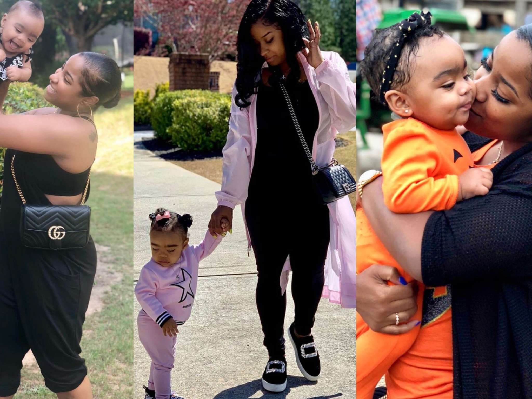 Toya Wright's Latest Video With Baby Reign Rushing Eating Ice Cream Will Make Your Day