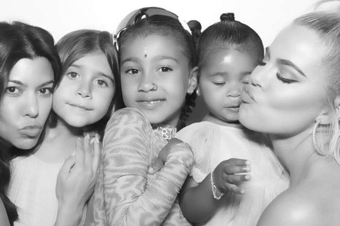 KUWK: Kim Kardashian Slammed After Picture Of Daughter North Wearing A Nose Ring Is Posted