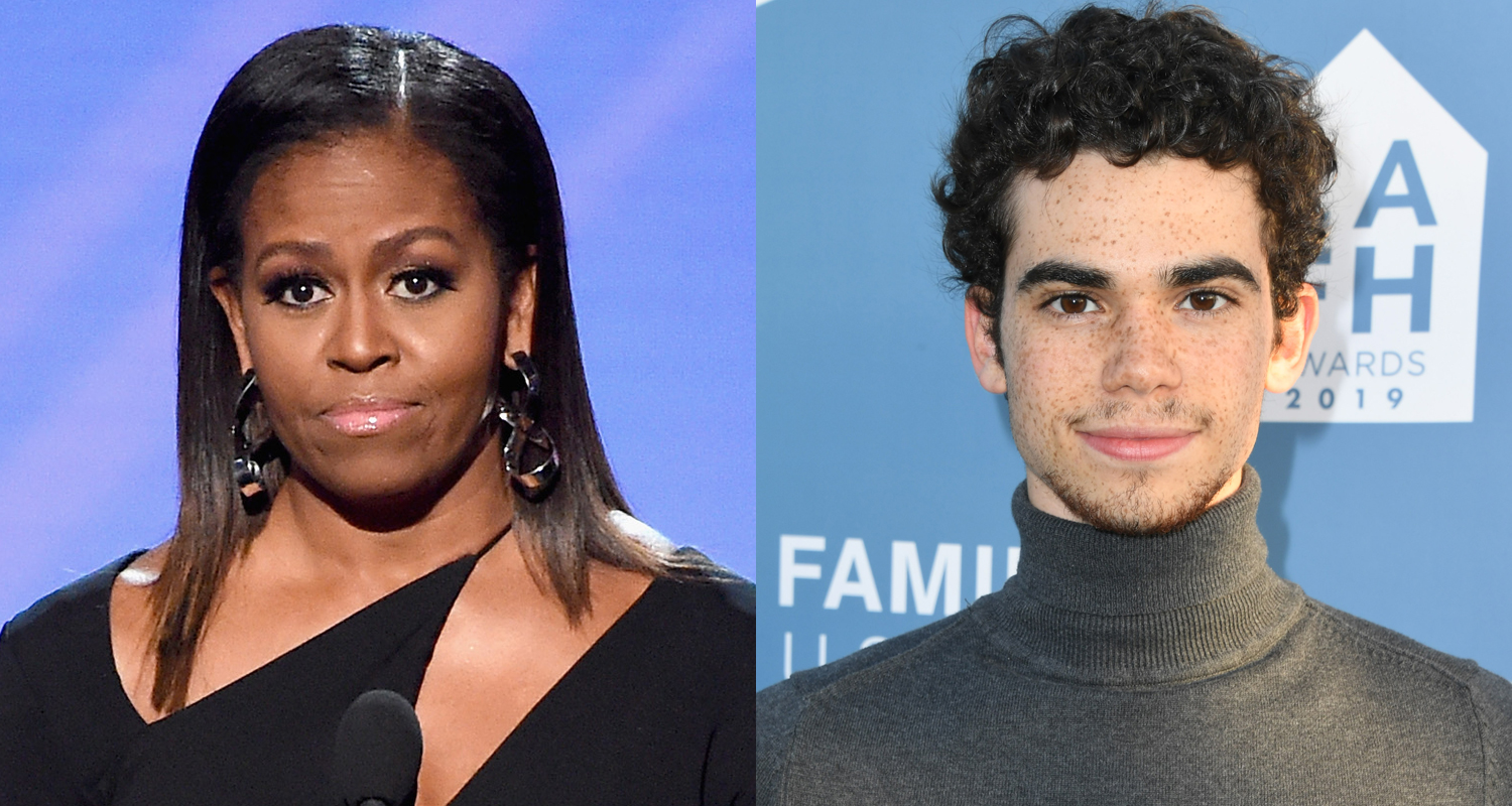 """michelle-obama-remembers-cameron-boyce-in-heartbreaking-post-he-had-an-incredible-heart"""