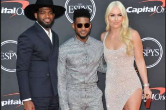 Lindsey Vonn Dazzles At The Espy Awards As Fans Ask If Usher Is Trying To Steal P.K. Subban's Girl