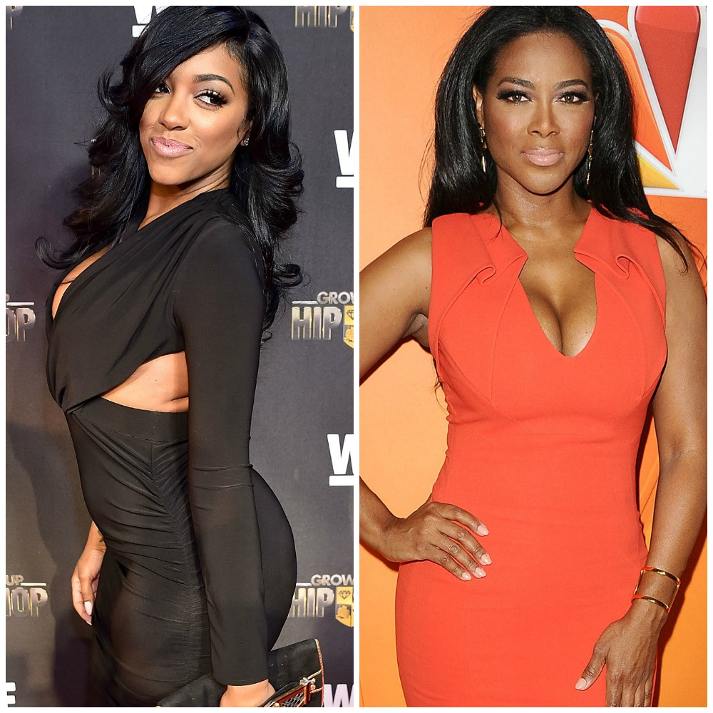 Kenya Moore And Porsha Williams' Daughters, Brooklyn And PJ Meet And Their Moms Are Having A Laugh - Check Out The Photos Featuring All Four Ladies