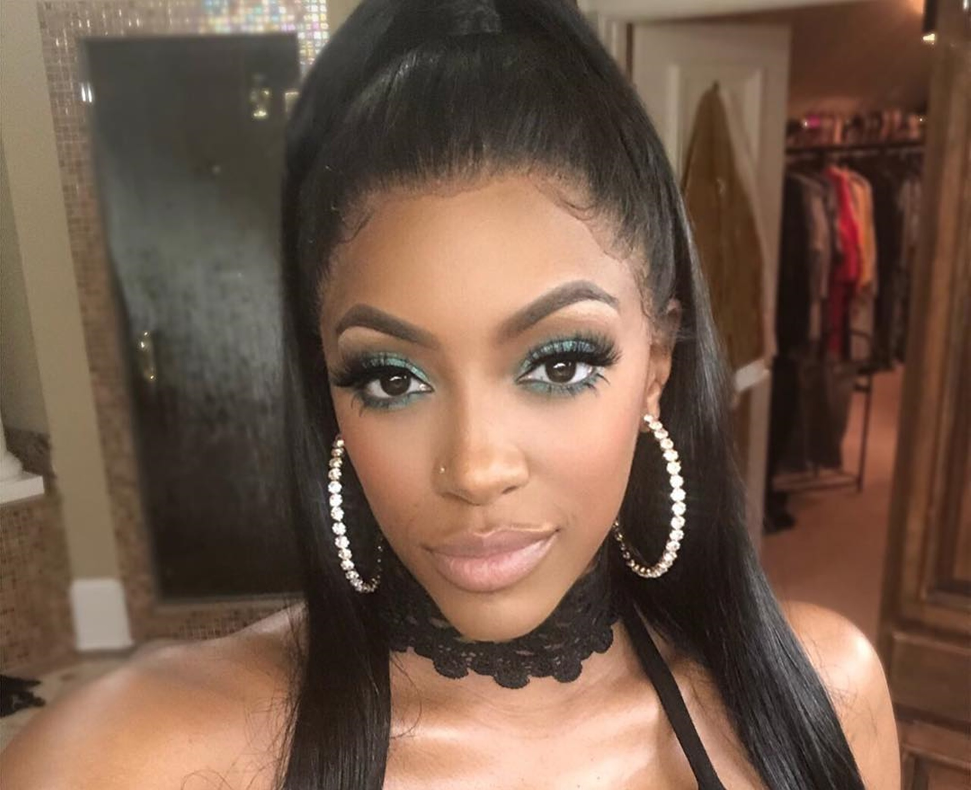 Porsha Williams Addresses The Issue Of Overthinking Things And People Are Convinced She's Talking About Dennis McKinley