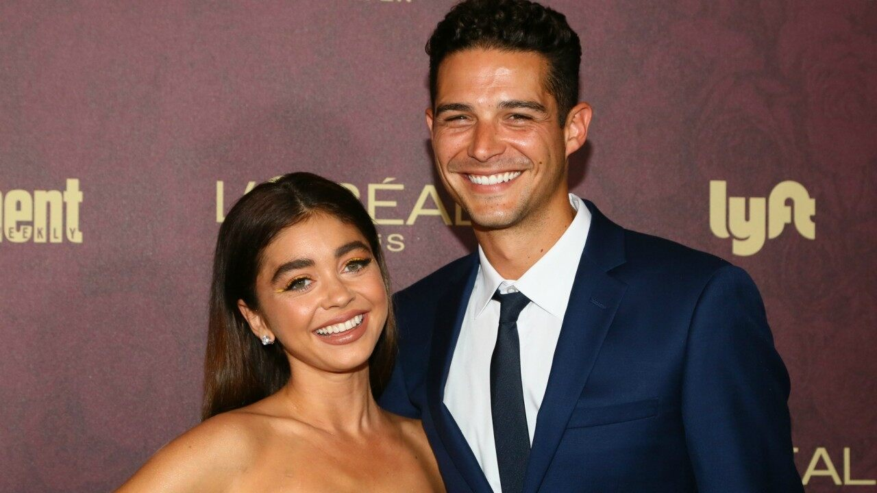 Modern Family star Sarah Hyland engaged to Wells Adams