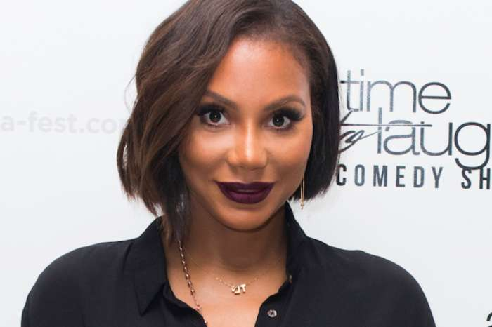 Tamar Braxton Shows Off Her New Look And Gushes Over David Adefeso