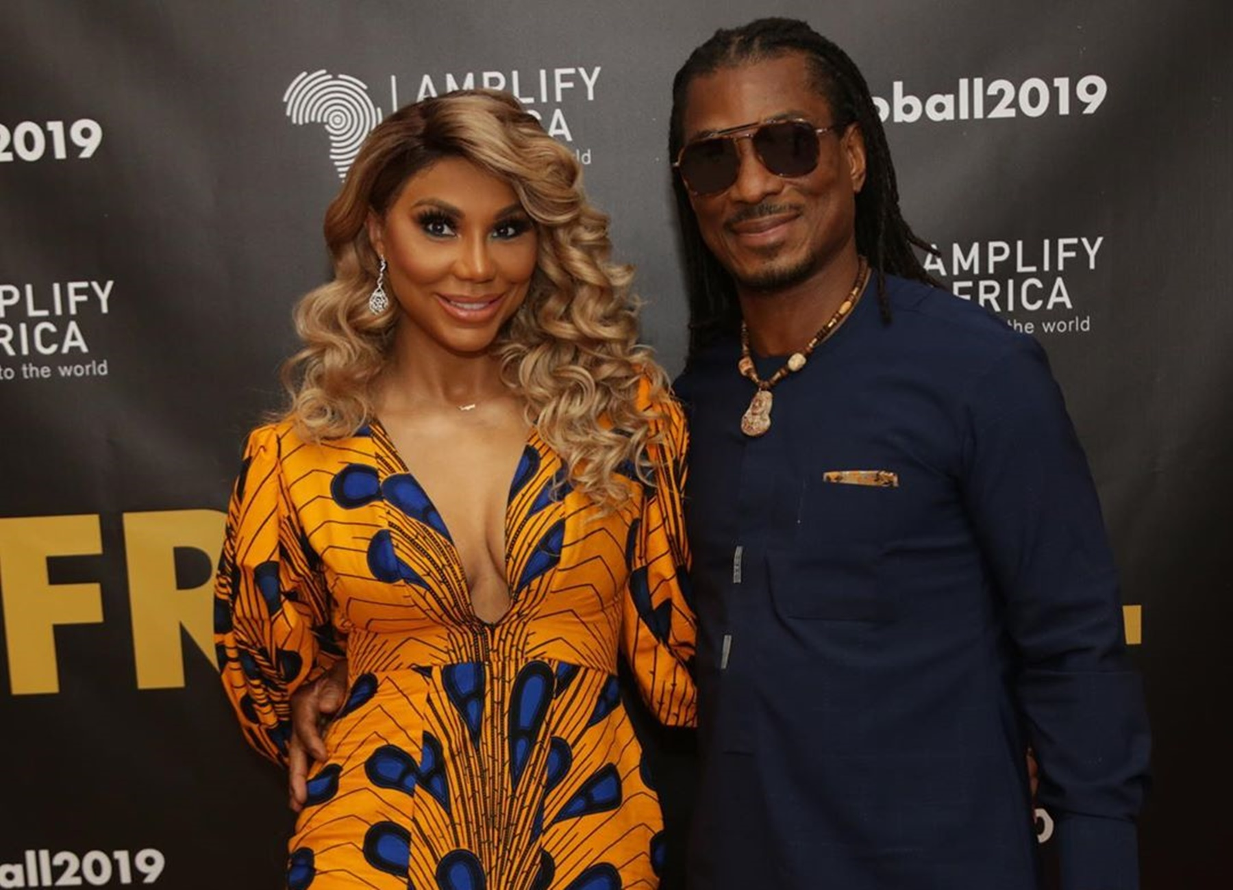 David Adefeso And Tamar Braxton Exchange Romantic Words And Fans Love That Yemi Claims Her 'Every Time He Breathes' - See The Videos & Pics Of The Couple