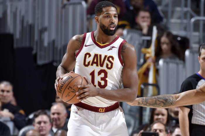 Tristan Thompson Is Here With The Summer Time Flex - See The Pic That Has Lady Fans Saying They Understand Why Jordyn Woods Did Not Resist His Kiss