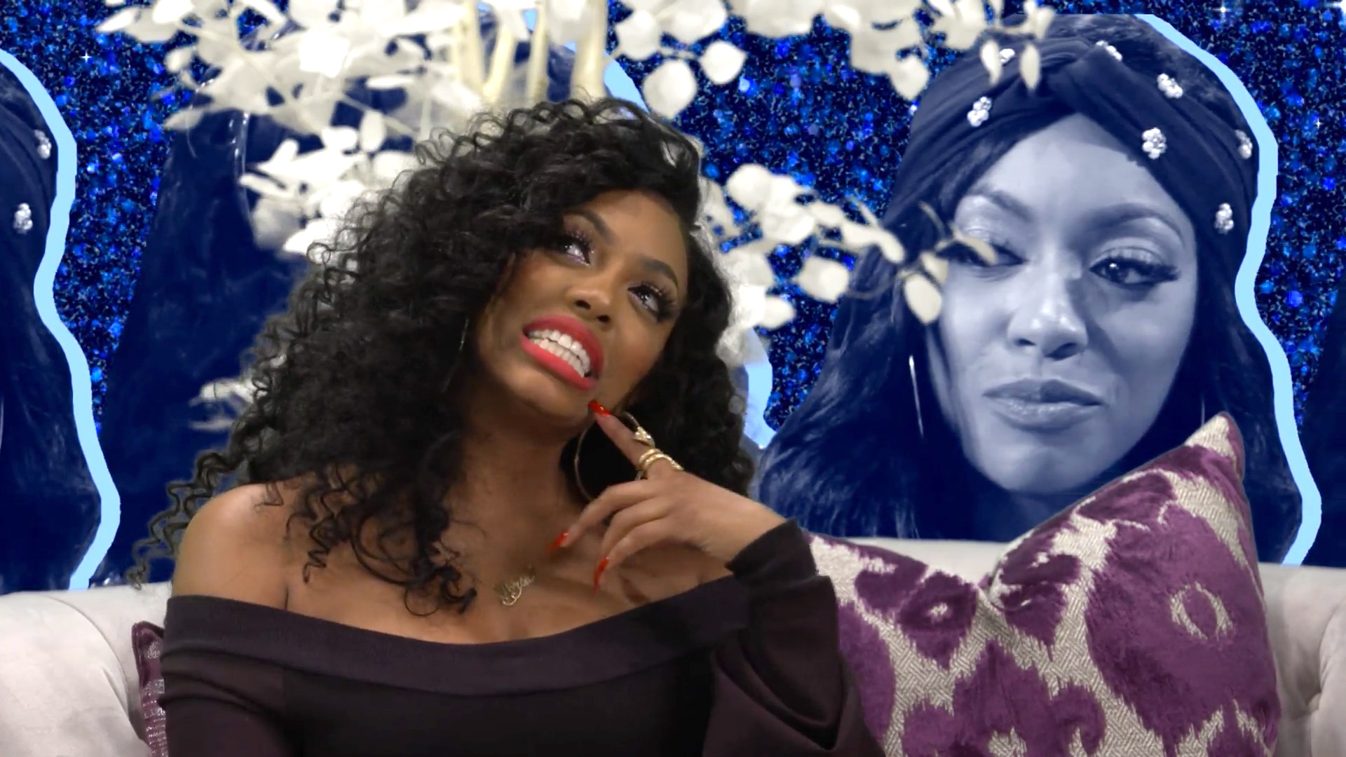 Porsha Williams Shows Off Her Hourglass Figure In An Animal Print Dress