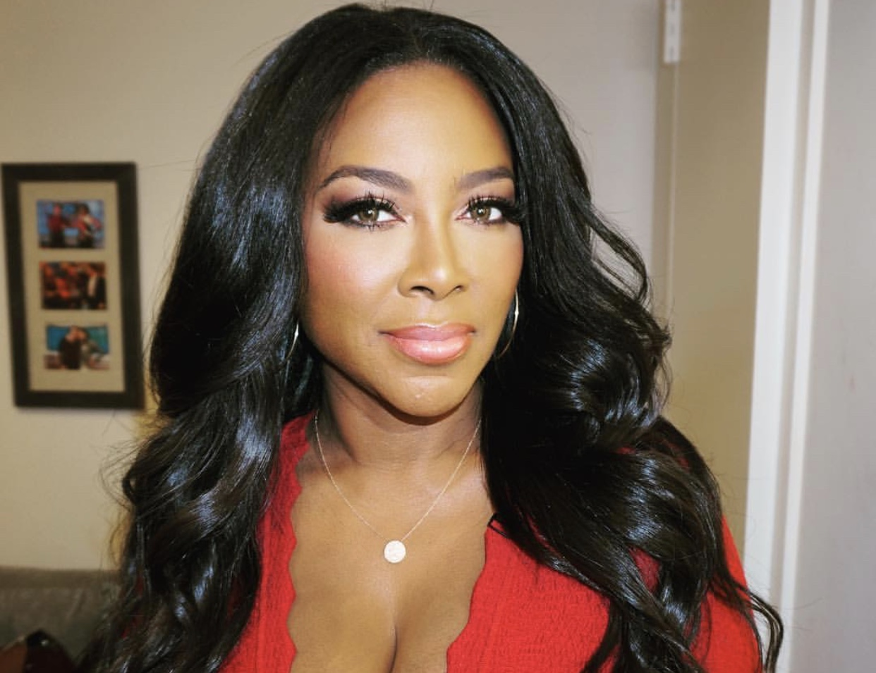 Kenya Moore's Latest Pics With Baby Brooklyn Has Fans In Awe