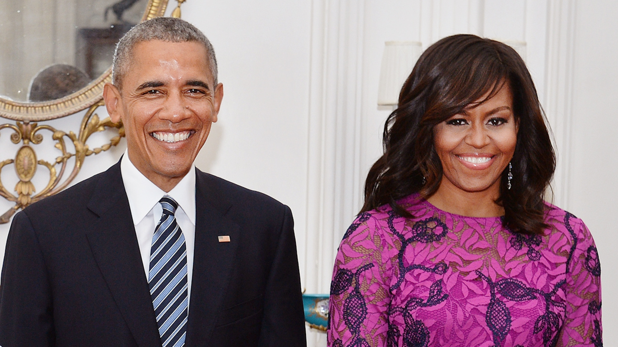 Barack Michelle Obama Will Smith