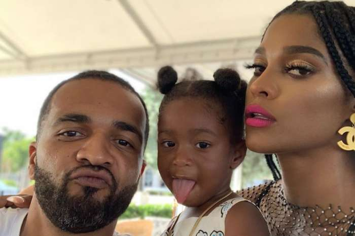 Joseline Hernandez, Who Might Be Pregnant, And Her BF, DJ Ballistic, Share Family Reunion Photo With Stevie J, His Wife, Faith Evans, And Daughter Bonnie Bella