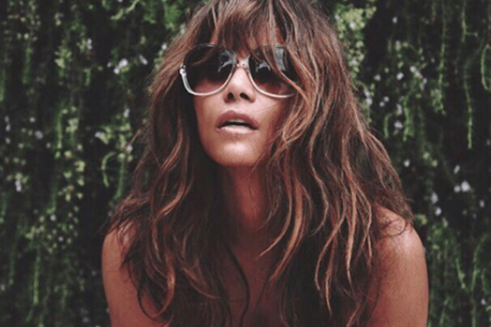 Halle Berry Drives Fans Wild By Posting Wet T-Shirt Birthday Photo