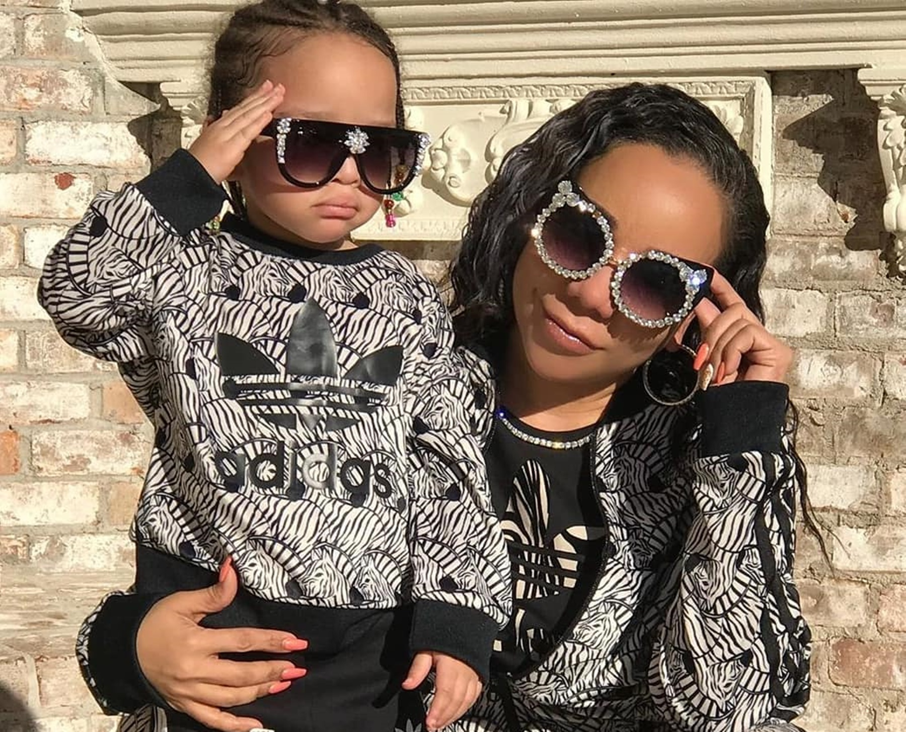 Tiny Harris Is Twinning With Her Baby Girl Heiress Harris - See Their Cute Video Together