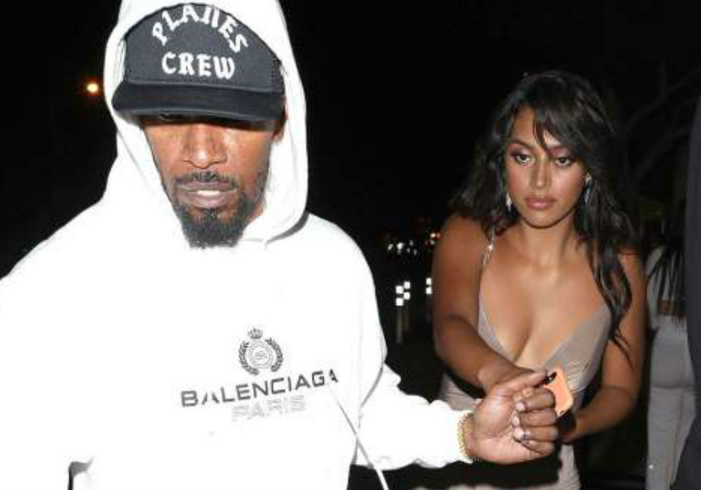 Jamie Foxx Defends Singer Sela Vave After Split from Katie Holmes