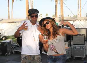 Jay-Z And Beyonce Have Fun With Their Twins -- Sir And Rumi -- In New Pictures As Tina Knowles Lawson Adds More Fuel To The Diva's Pregnancy Rumor