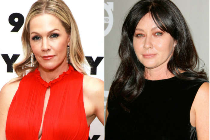 Jennie Garth Dishes Worst Fight With Shannen Doherty On Beverly Hills 90210 Set