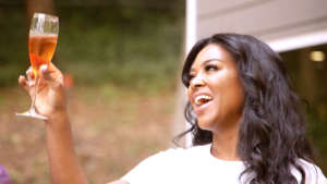 After Kenya Moore Trashes RHOA Co-Star Who Is 'Trying To Make A Name For Herself,' Fans Speculate She May Be Feuding With Tanya Sam