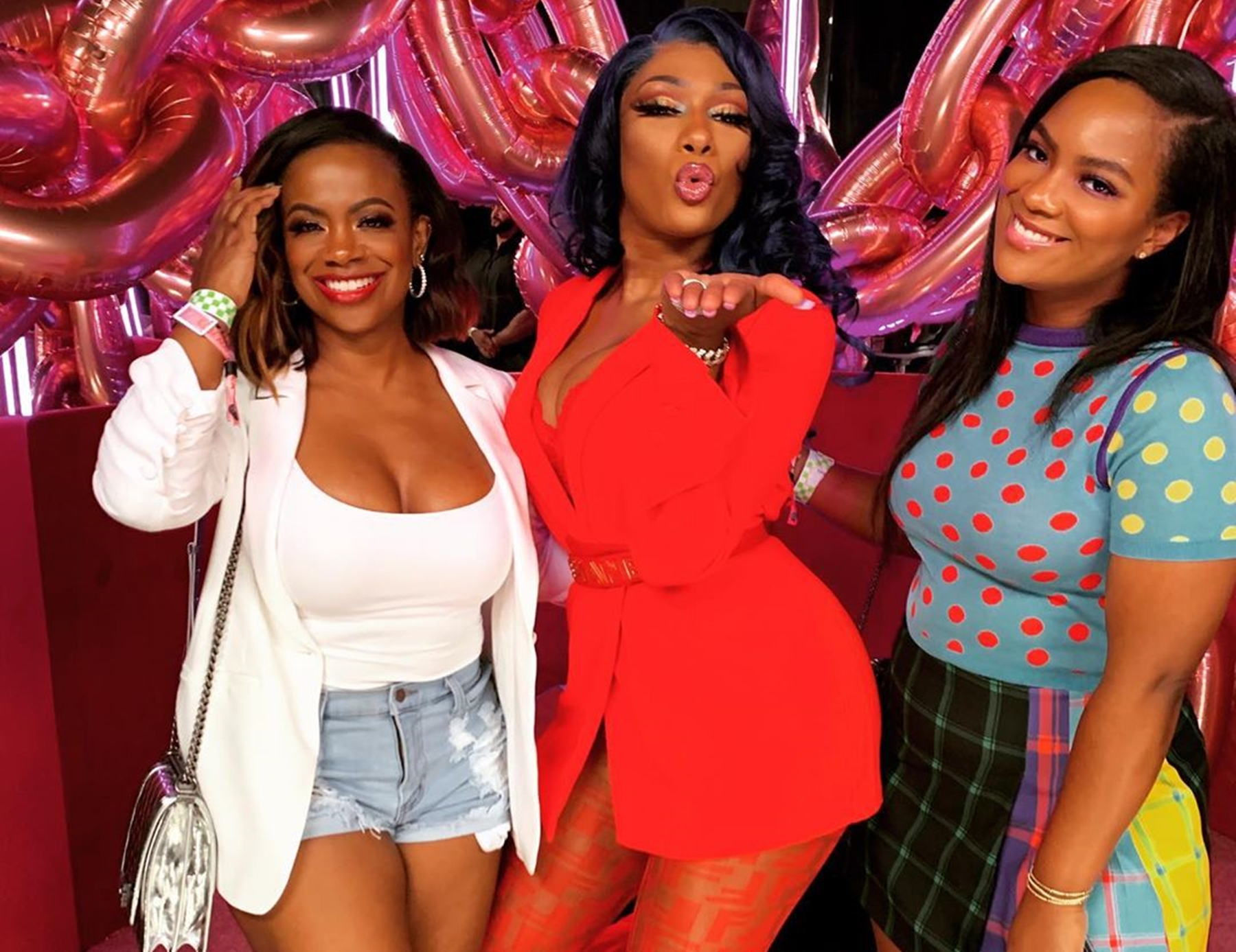 Kandi Burruss Megan Thee Stallion Riley