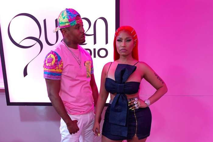 Nicki Minaj Fires Back At Fans Who Ridiculed Her For Posting This Scandalous Photo With Her BF, Kenneth Petty