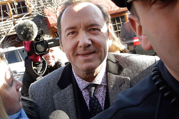 Kevin Spacey Steps Out For Poem Reading Following Dropped Sexual Assault Charges