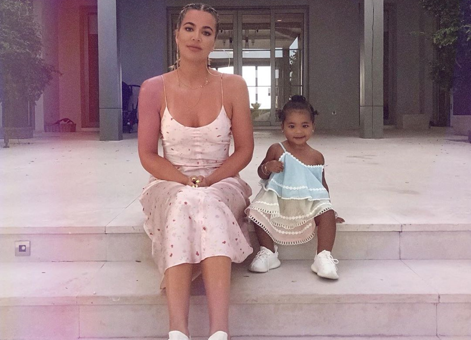 Khloe Kardashian True Thompson Vacation