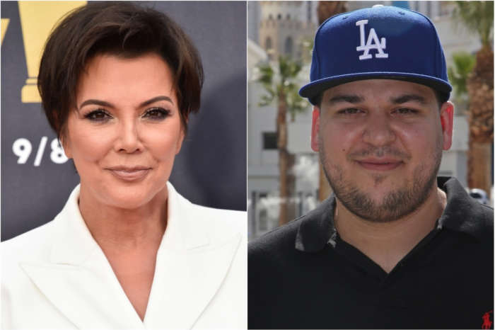 Kris Jenner Orders Her Daughters To Save Rob Kardashian's New Streetwear Line While Kourtney Kardashian's Lifestyle Website Flops