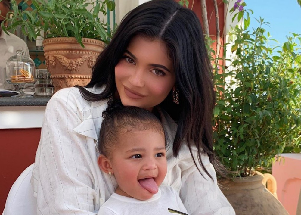 """""""kylie-jenner-and-stormi-webster-look-adorable-in-matching-dresses"""""""