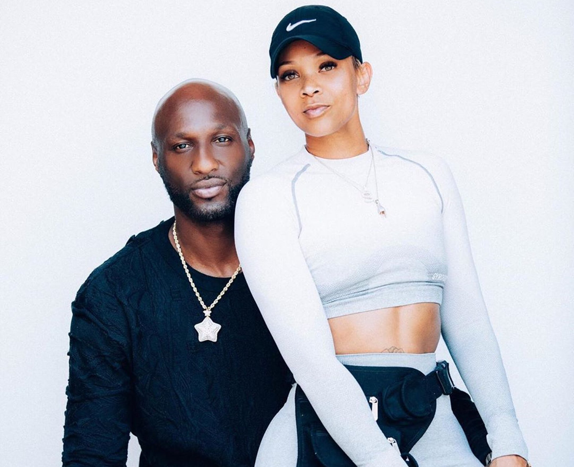 Lamar Odom And His New GF Sabrina Parr Talk About Their Relationship