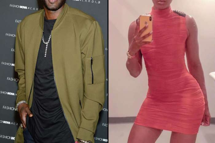 Lamar Odom And His New GF, Sabrina Parr Are Spotted Showing Love To Each Other - See The Video