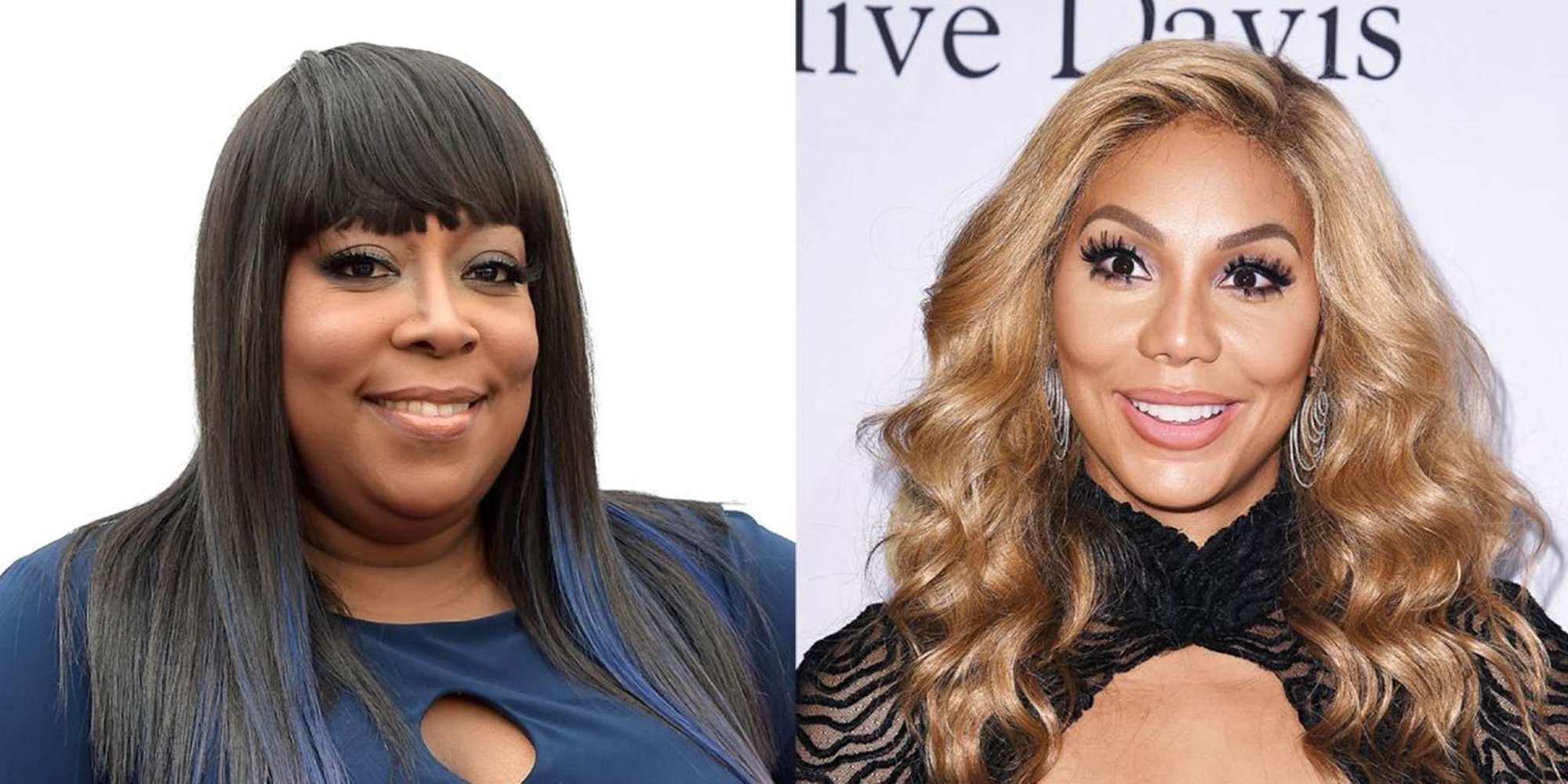 Loni Love Tamar Braxton The Real