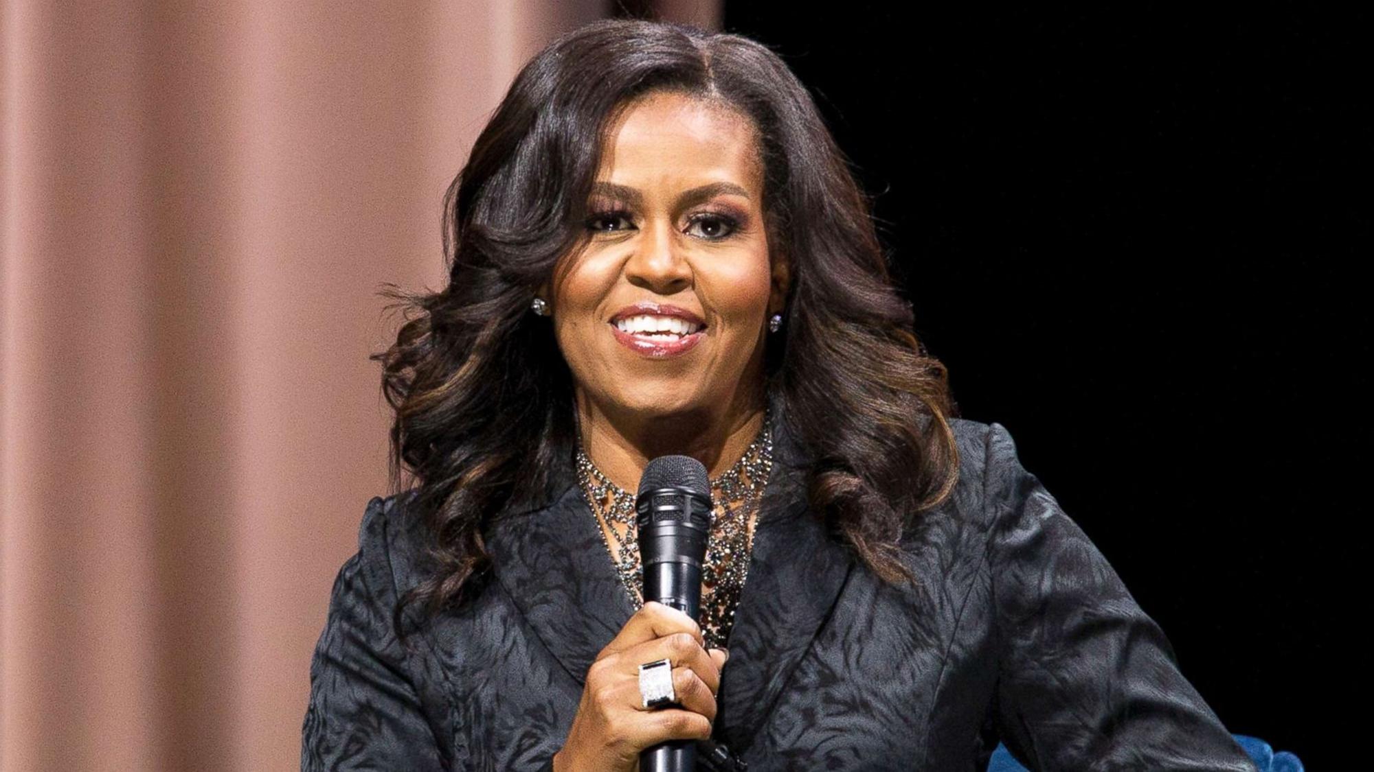 Michelle Obama Michael Moore Presidential Run
