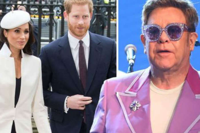 Elton John Blasts Haters After Prince Harry And Meghan Markle Criticized For Using Private Jet On Vacation