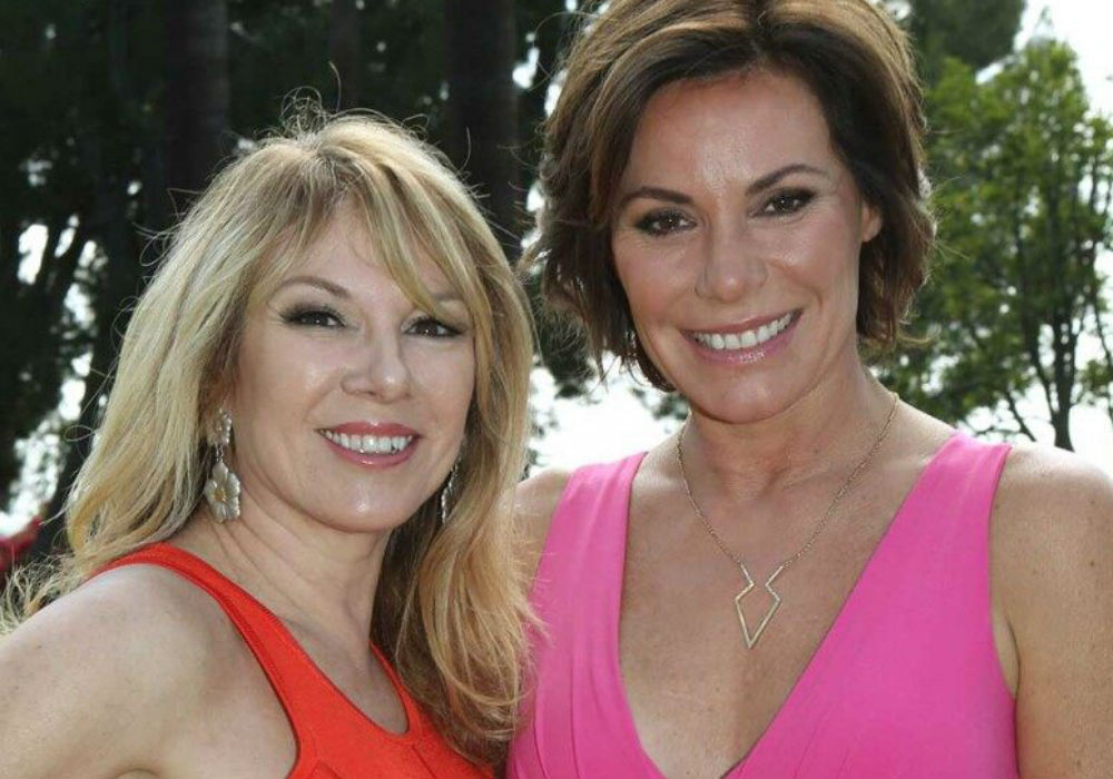 RHONY LuAnn De Lesseps Reveals Exactly How She Stays Sober After Ramona Singer Questioned Her Sobriety