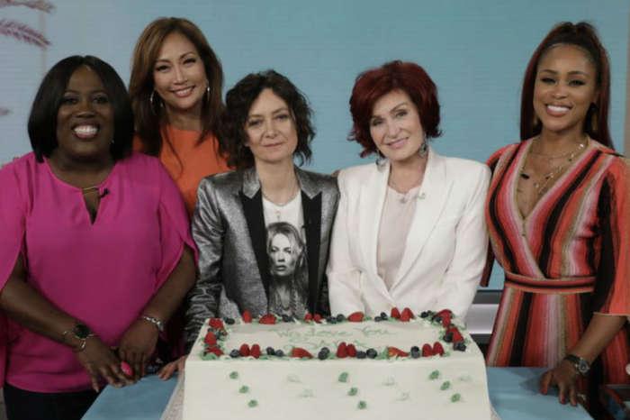 The Talk: Sharon Osbourne Praises 'Best Friend' Sara Gilbert During Her Final Episode