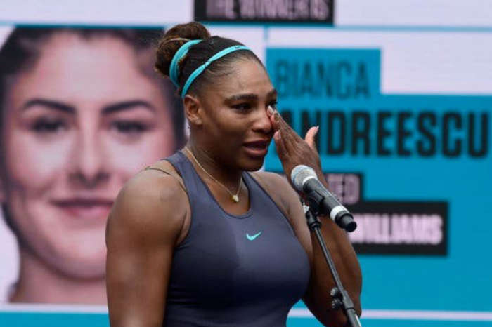 Serena Williams Gets Emotional After Injury Forces Her To Withdraw From Rogers Cup Finals