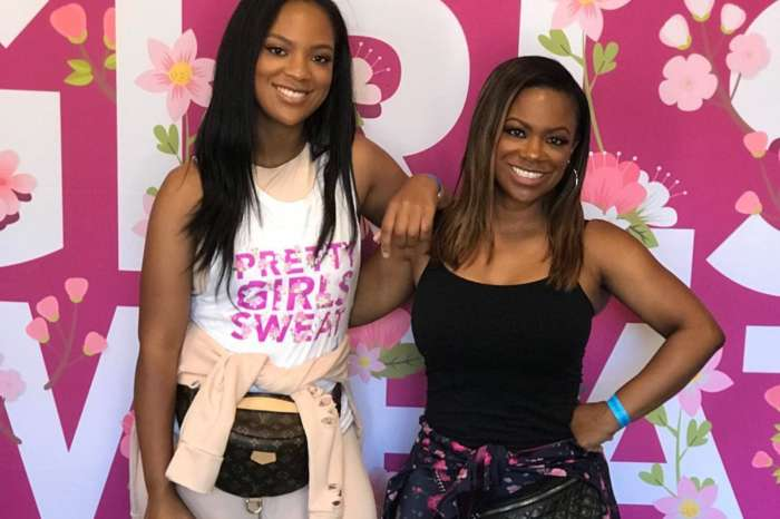 Kandi Burruss Shares A Photo In Which She's Working Out With Her Daughter, Riley Burruss