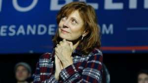 Bernie Sanders's Surrogate, Susan Sarandon (With Her Dog), Goes After Elizabeth Warren And Joe Biden -- It Is 2016 All Over Again!