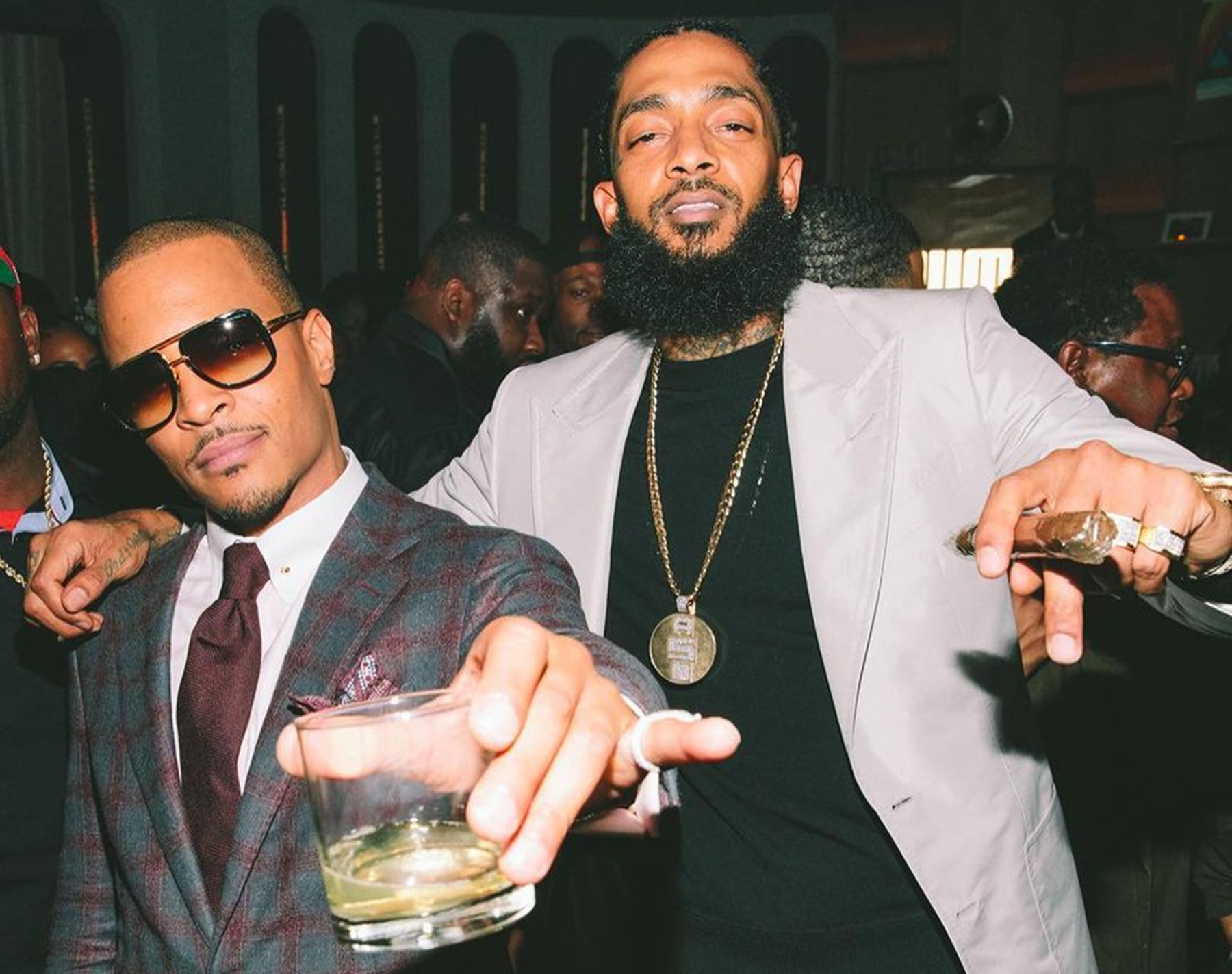 T.I. Remembers Nipsey Hussle With An Emotional Message And Photos