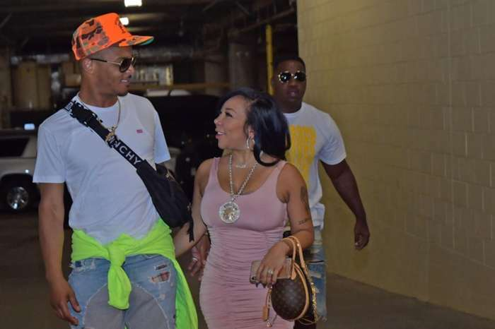 Tiny Harris Forces Hater To Delete Mean Comment About T.I.'s Tight Pants After She Posted These Pictures Of Rapper In Jeans With Sweatpants Hem