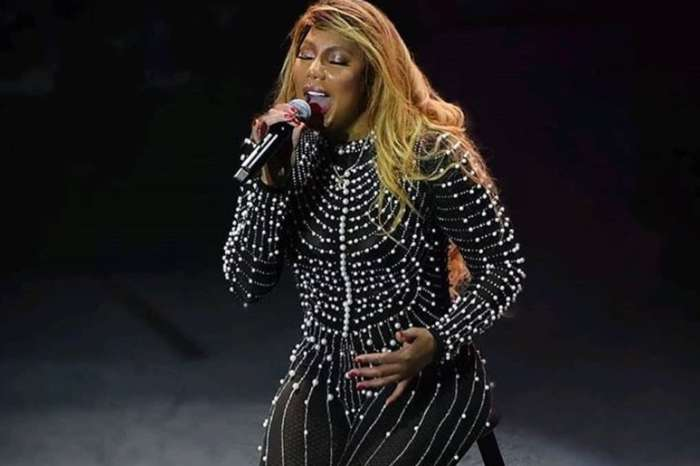 Tamar Braxton Gets A Look From BF David Adefeso That Sends A Chill Down Her Spine In Latest Video