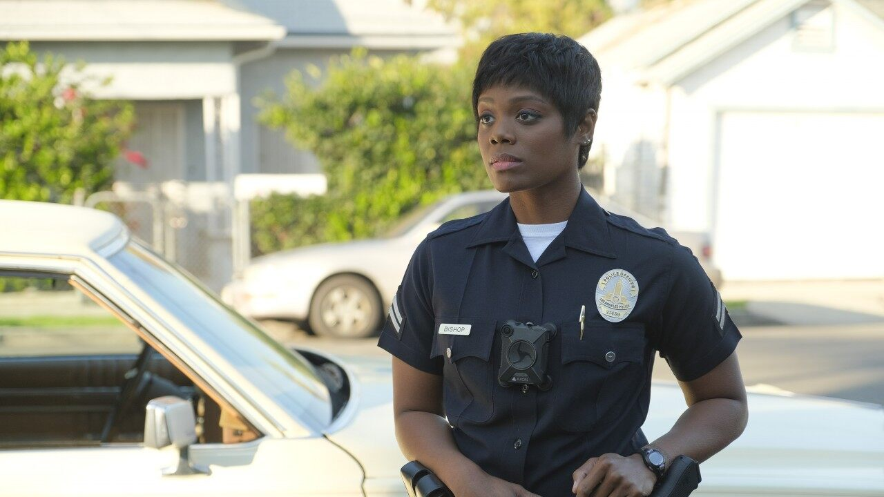 Afton Williamson quits 'The Rookie' over alleged sexual harassment, racism